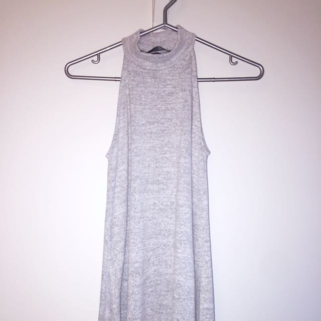 Cotton Grey Dress