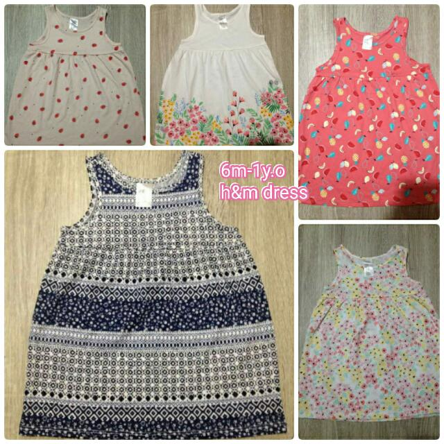 H&M  Dress For 6-12m