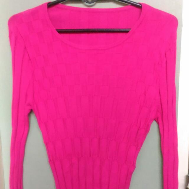 Hot Pink Longsleeves