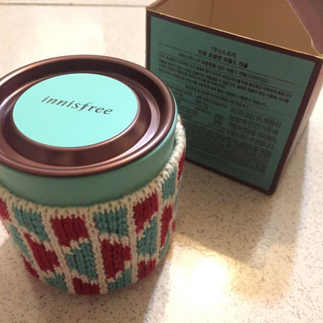(含運)Innisfree薄荷巧克力香氛蠟燭