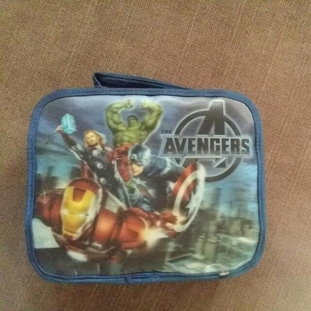 Insulated Avengers Lunch Bag