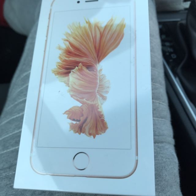 Iphone 6S 32Gb rose gold sealed In Box