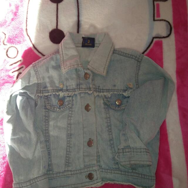 Jacket Denim Kids Girls
