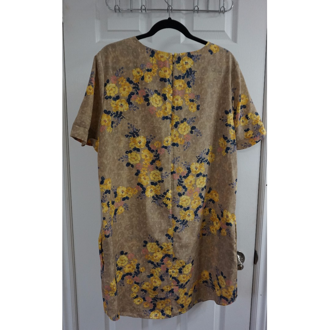 Joe Fresh Floral Dress (Size XL - 12-14)