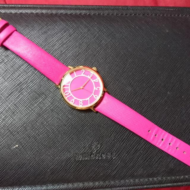 Kate spade New york桃紅手錶