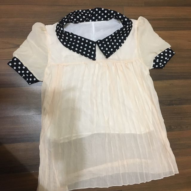 kemeja blouse putih
