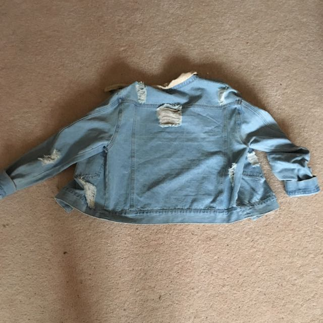 Kendall & Kylie Denim Jacket Size L