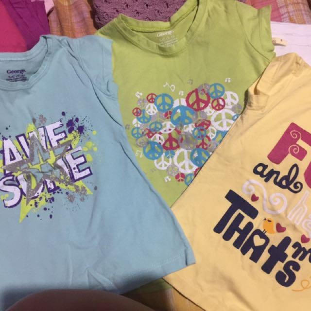 kids shirt. 4-6yrs old