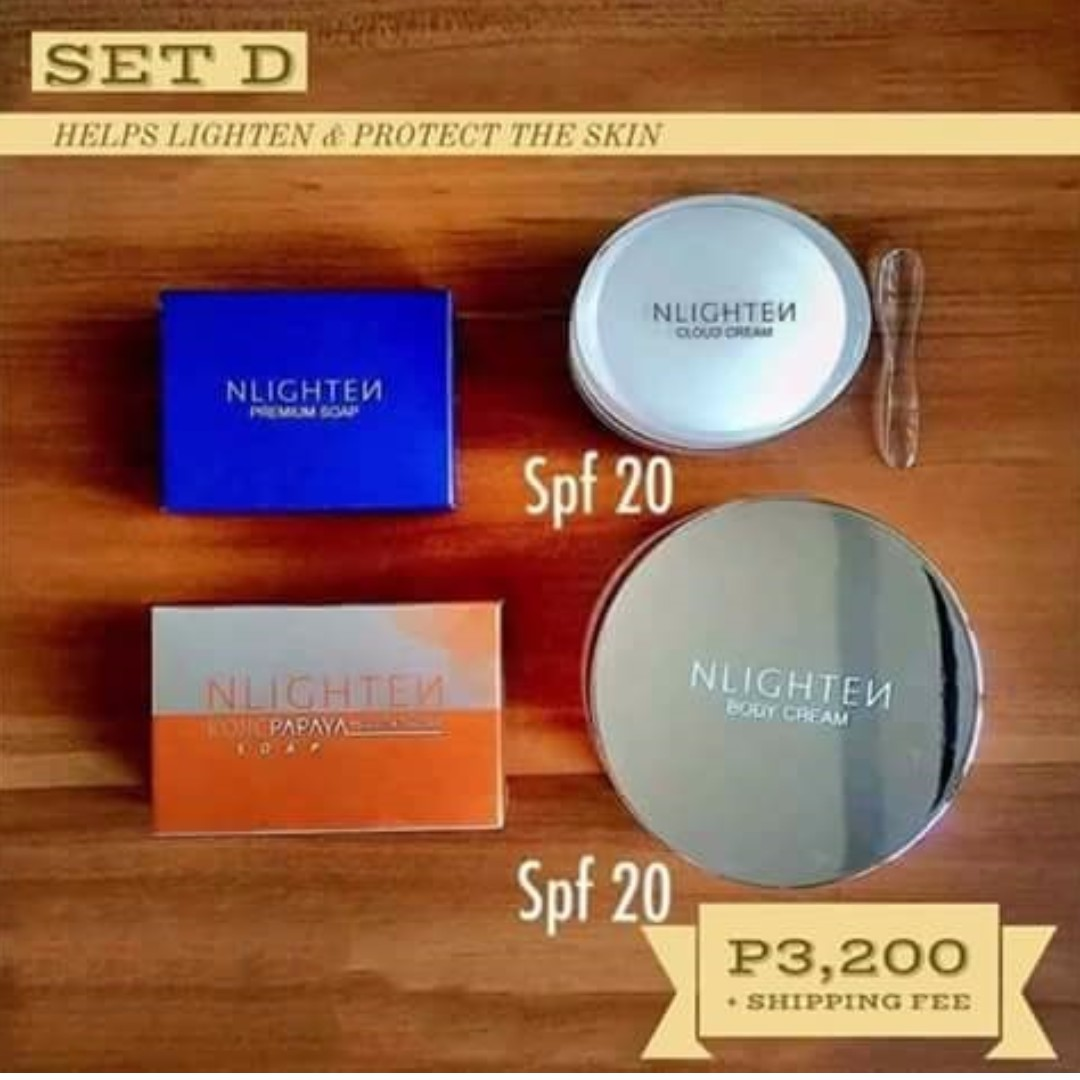 Kojic Soap/Premium Soap/Body Cream/Cloud Cream