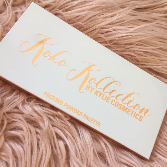 Kylie Cosmetics Limited Edition Koko Kollection Pressed Powder Palette