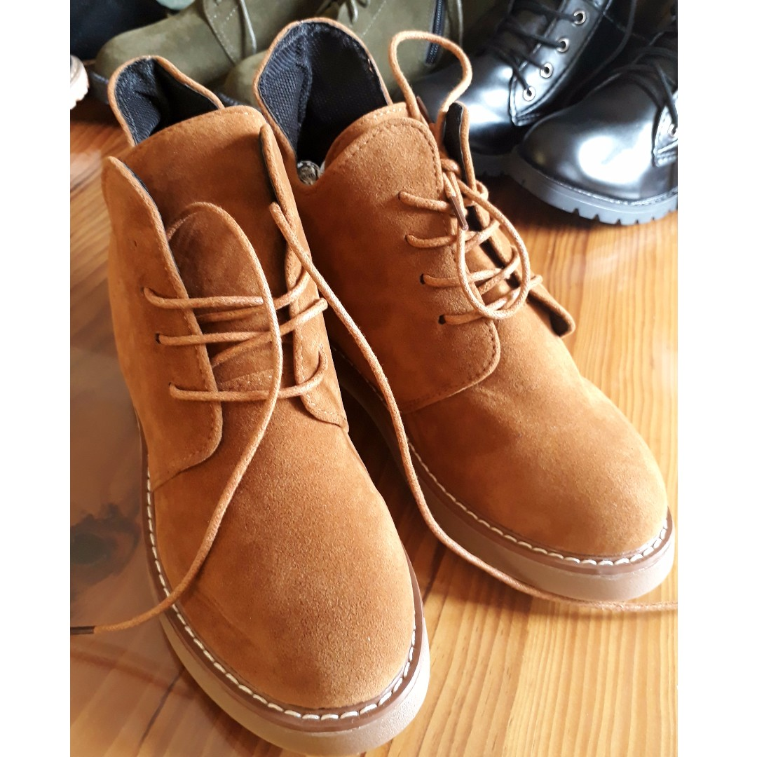 Lace Up Ankle Boots (size 36)