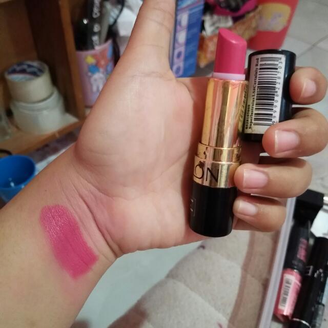Lipstik Revlon Pink