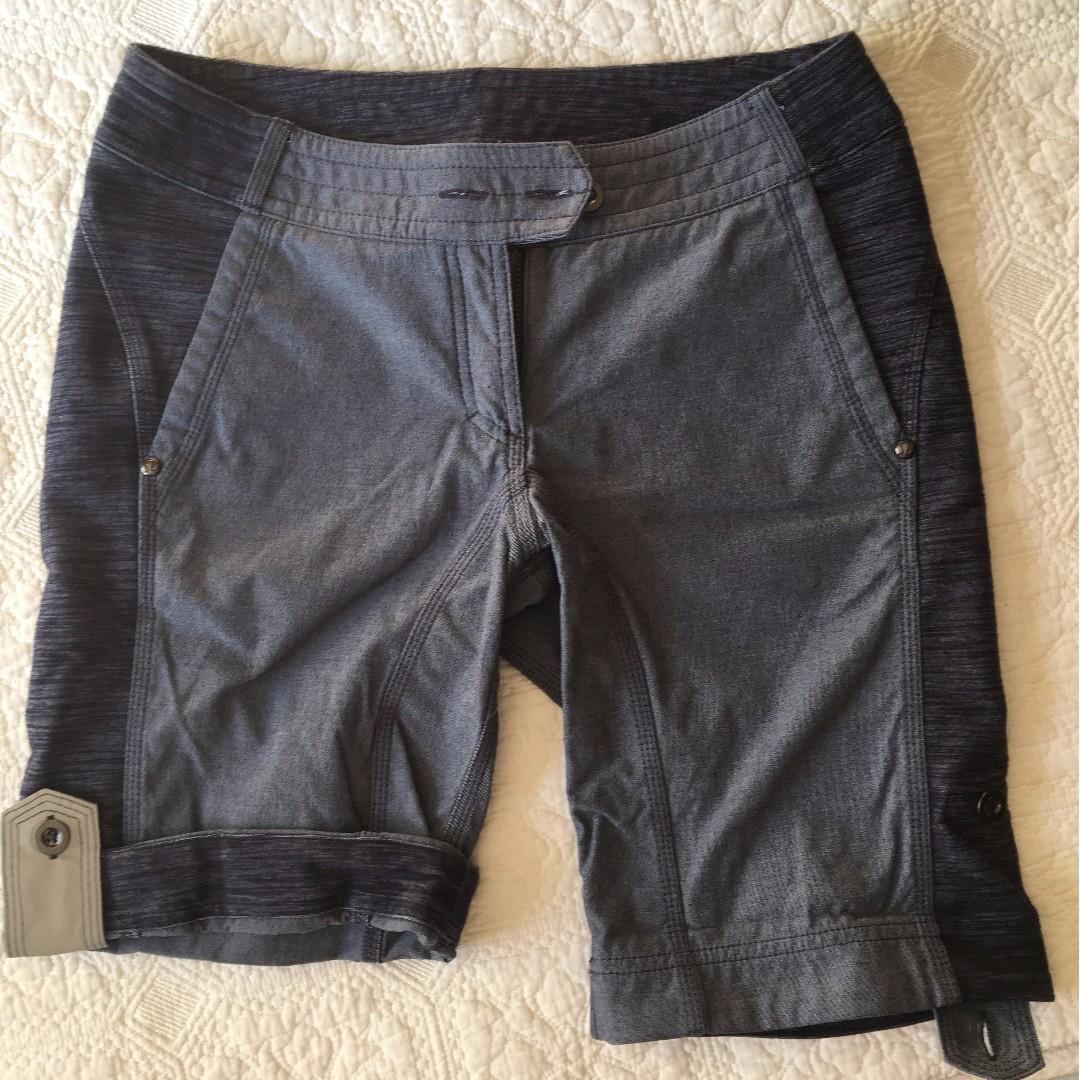 Lululemon Ride On Shorts Denim/Blue Sz 6
