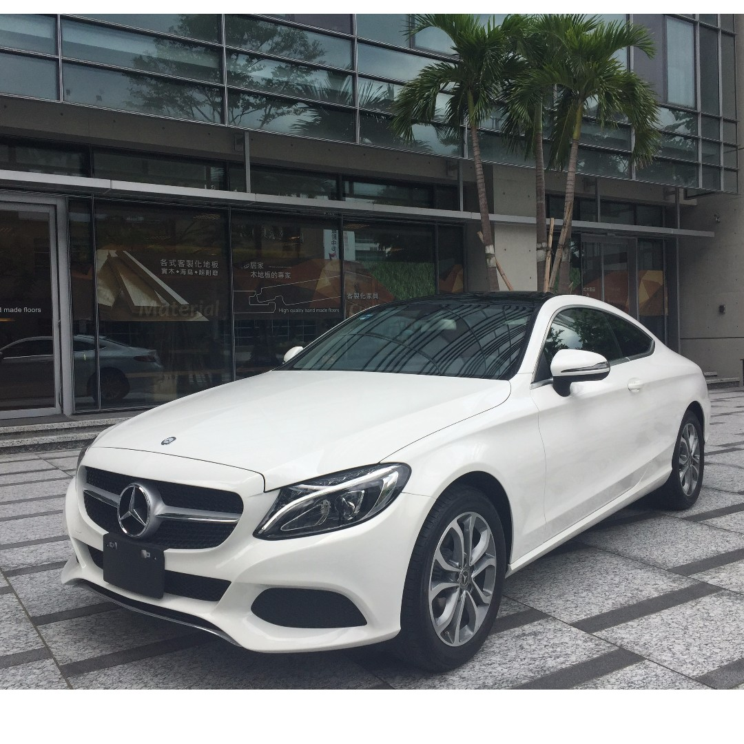 17式 Mercedes Benz C180 Coupe, Cars, Cars For Sale On Carousell