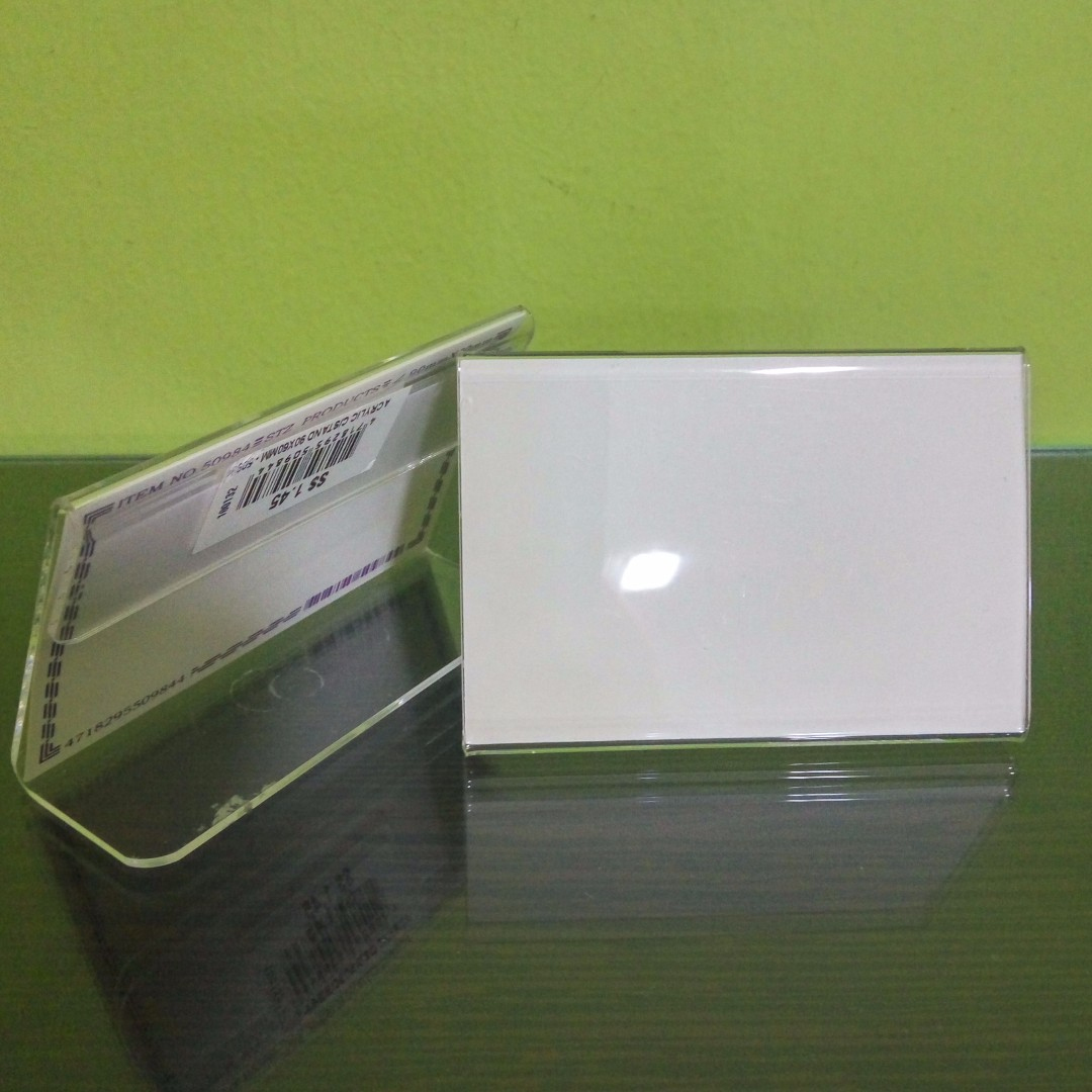 Business Card Plastic Holder, Books & Stationery, Stationery on ...
