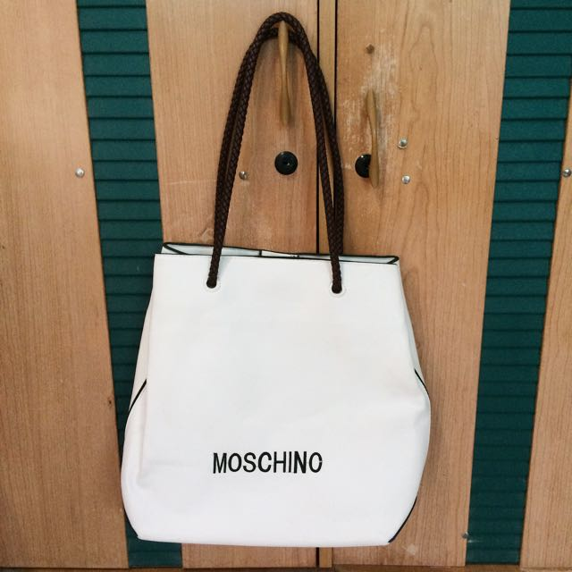 (NEW!) Mochino White Bag