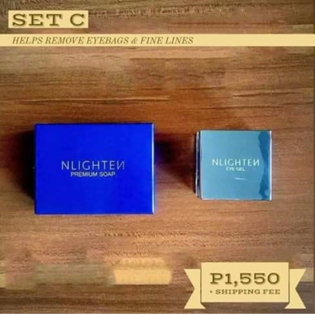 Nlighten Premium Soap and Nlighten Cloud Cream