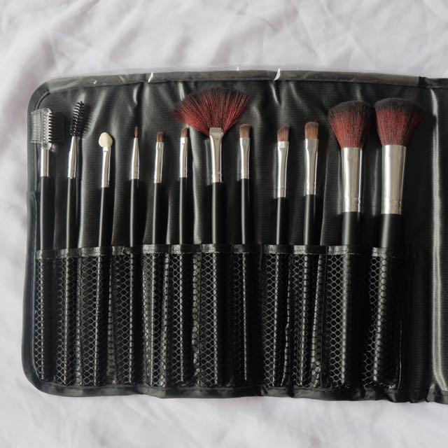 No Brand Brush Set (12Pcs)