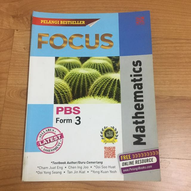 Notes With Exercise Maths Book Form 3