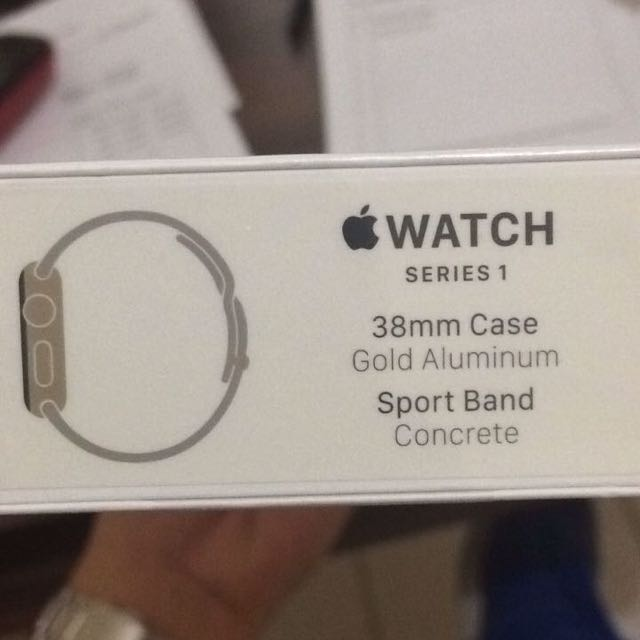 (ORI) APPLE WATCH SERIES 1 NEW 33mm GOLD