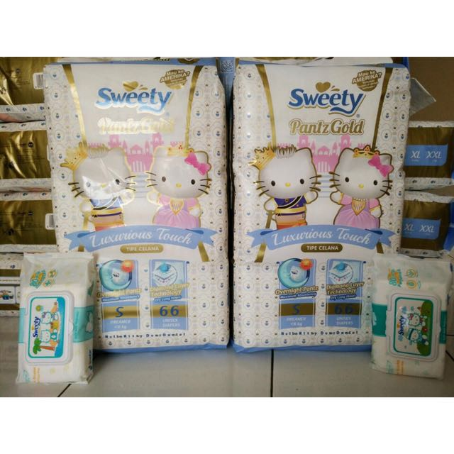 Pampers Sweety Pants Gold S 66