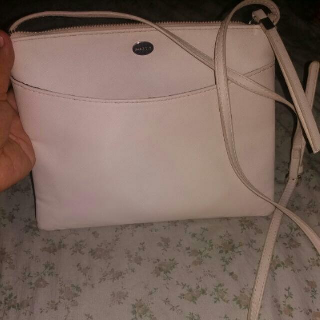 PARFOIS White Sling Bag