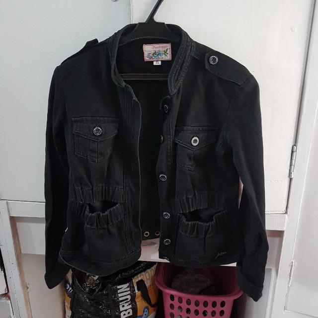 REPRICED! Penshoppe Black Jacket (Small)