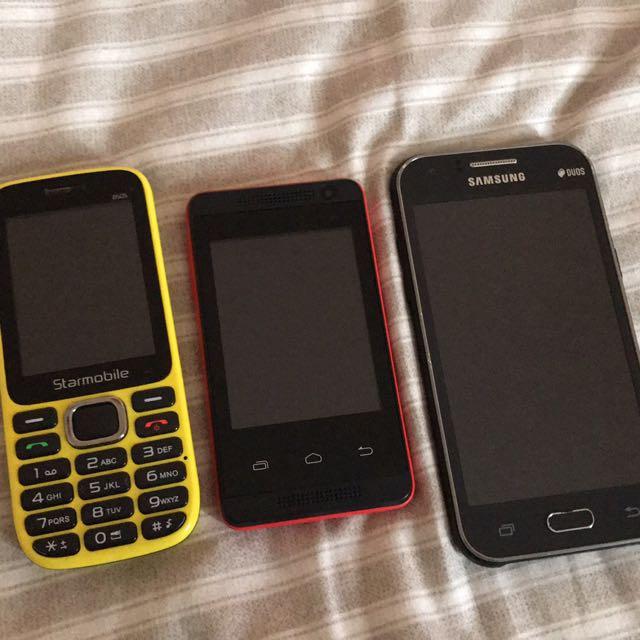 PHONES! RUSH!