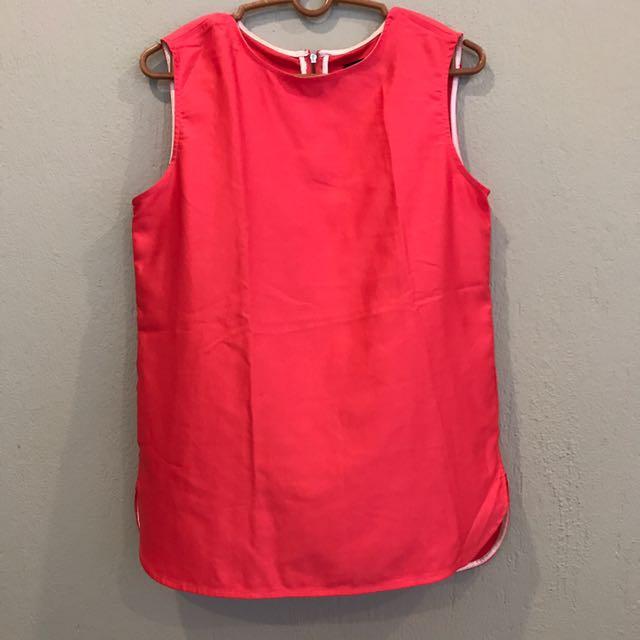 [Reduced!] Agenda pink sleeveless TOP