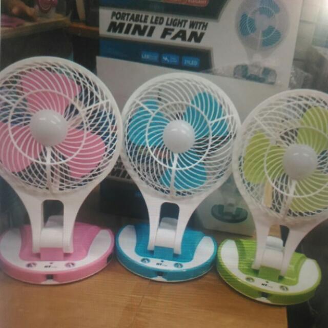 Portable Led Mini Fan