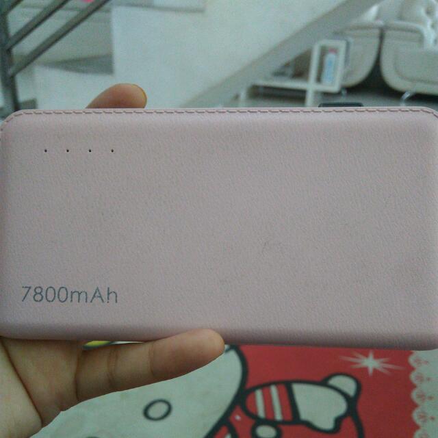 Power Bank 7800mah