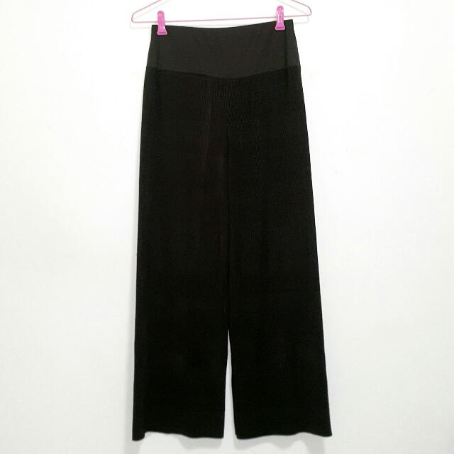 Preloved Mini Pleats Long Culottes (Never Worn)