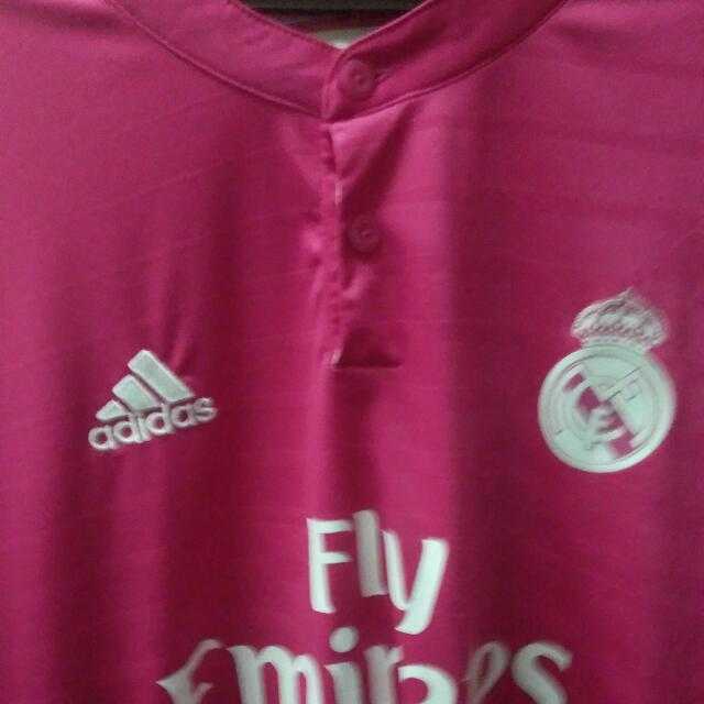 separation shoes 0ceb9 d3304 #UNDER90 Real Madrid Pink Jersey
