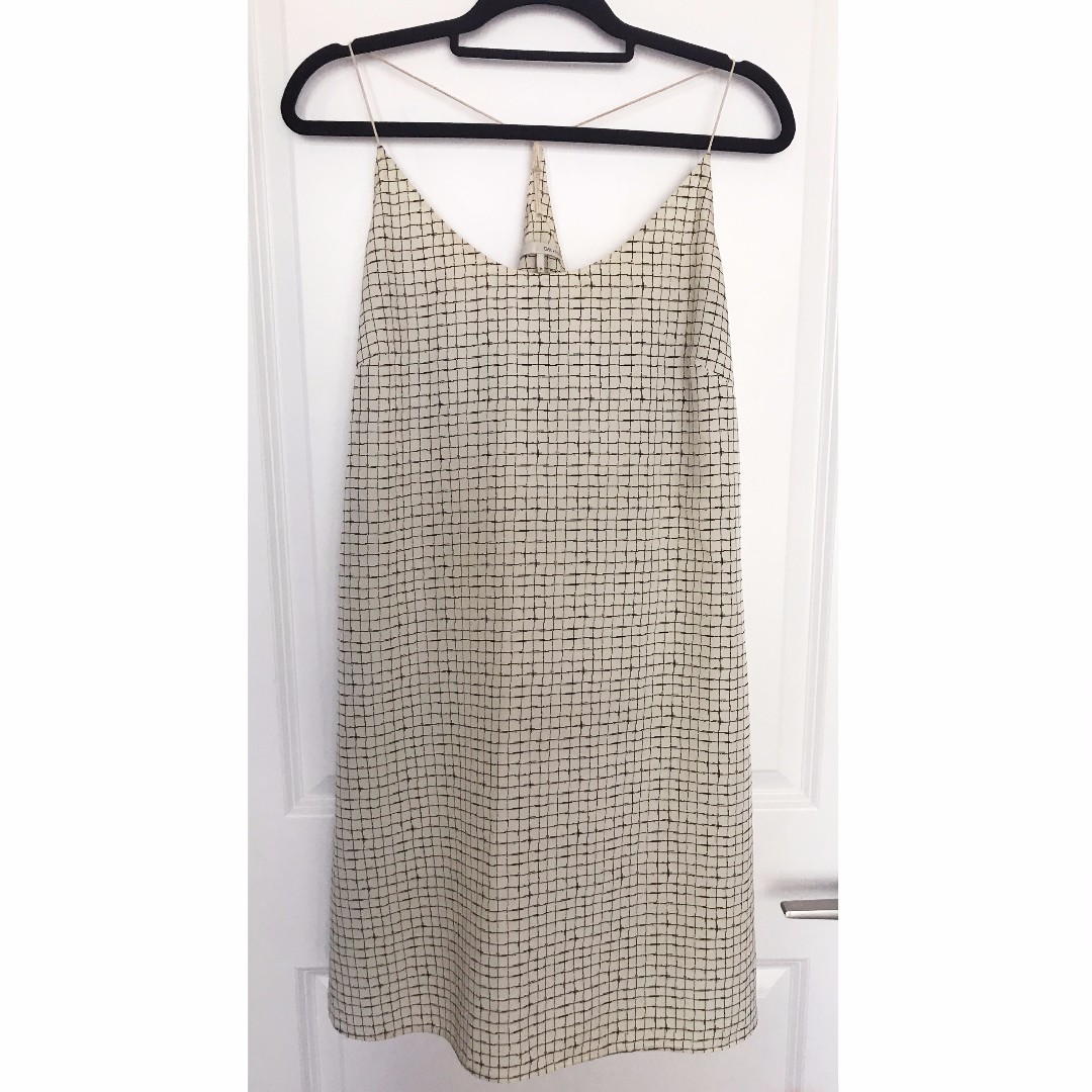 Printed Slip Dress - Oak + Fort Size Medium