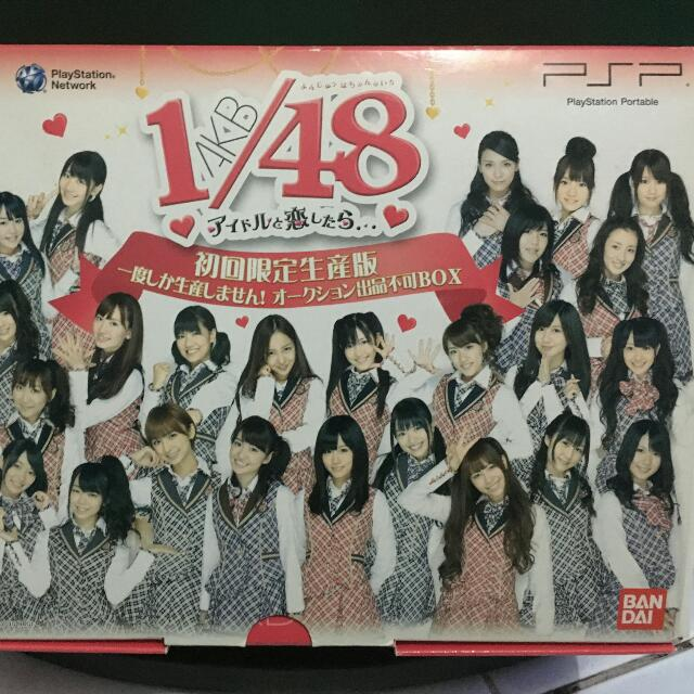 [AKB48] PSP AKB1/48 Idol to Koi Shitara (If I Fell in Love with an Idol) [First Release Limited Edition]