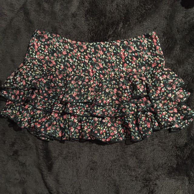 Pure Hype Shear Layered Skirt