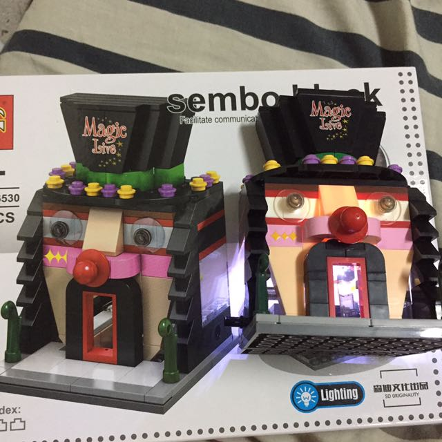 Sembo Block Magic Live