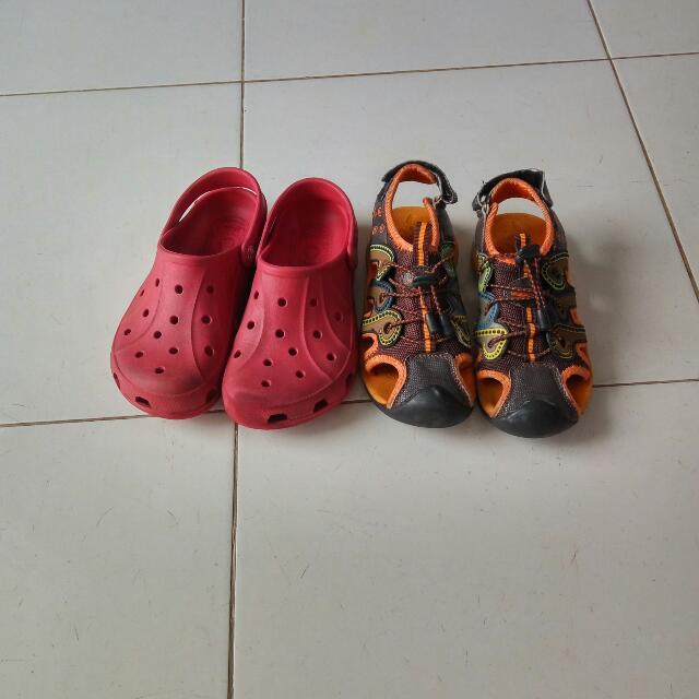 Sendal CROCODILE & Crocs Anak
