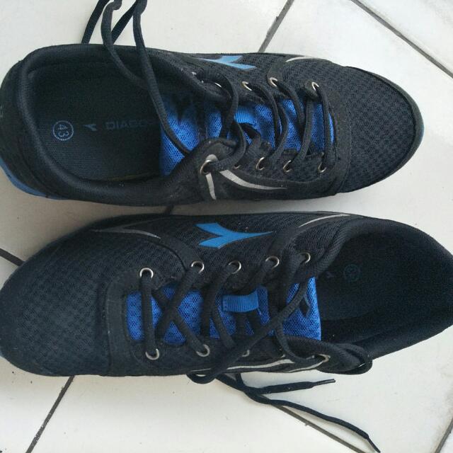 Sepatu Diadora Runing Size 43 Original