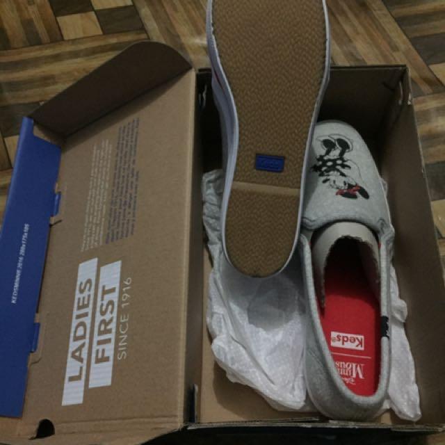 Sepatu merk Keds edisi Mickey Mouse