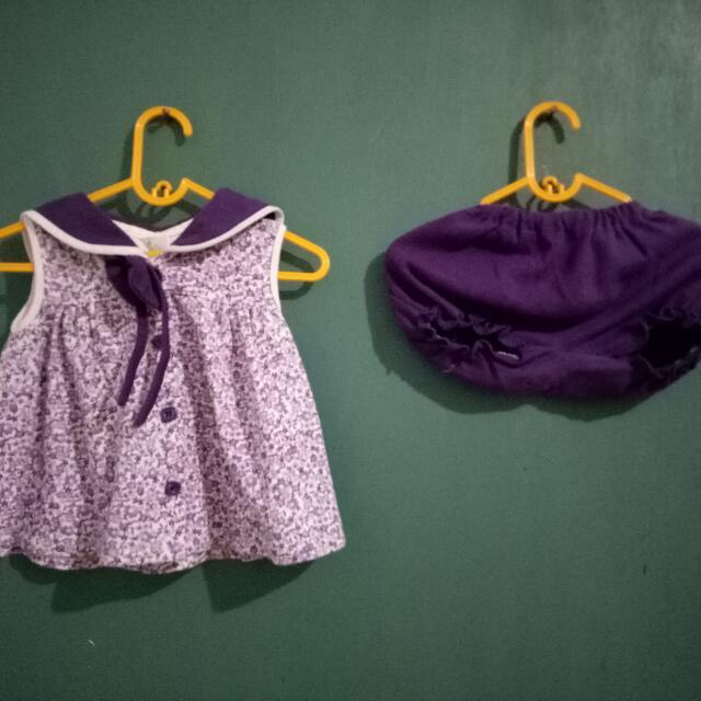 Set baju bayi merk banana
