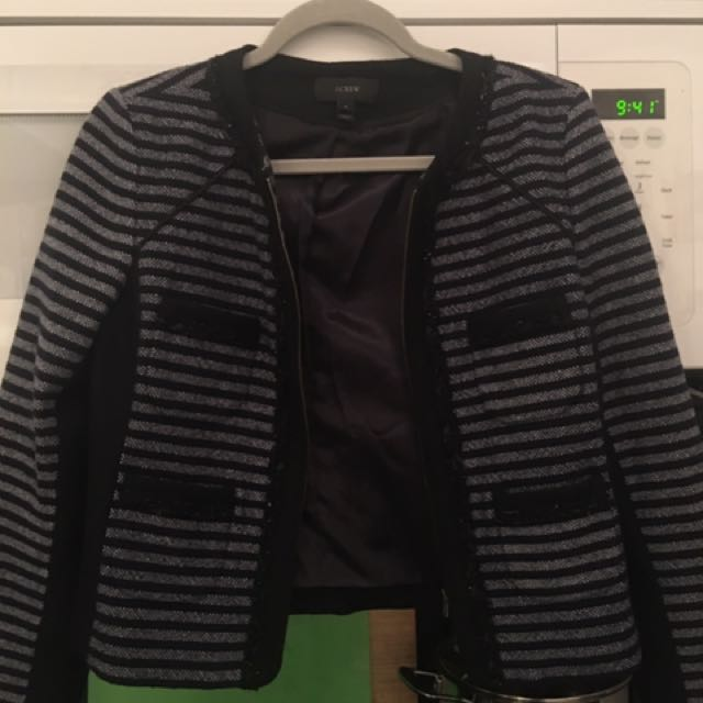 Size 4 Jcrew Wool Jacket