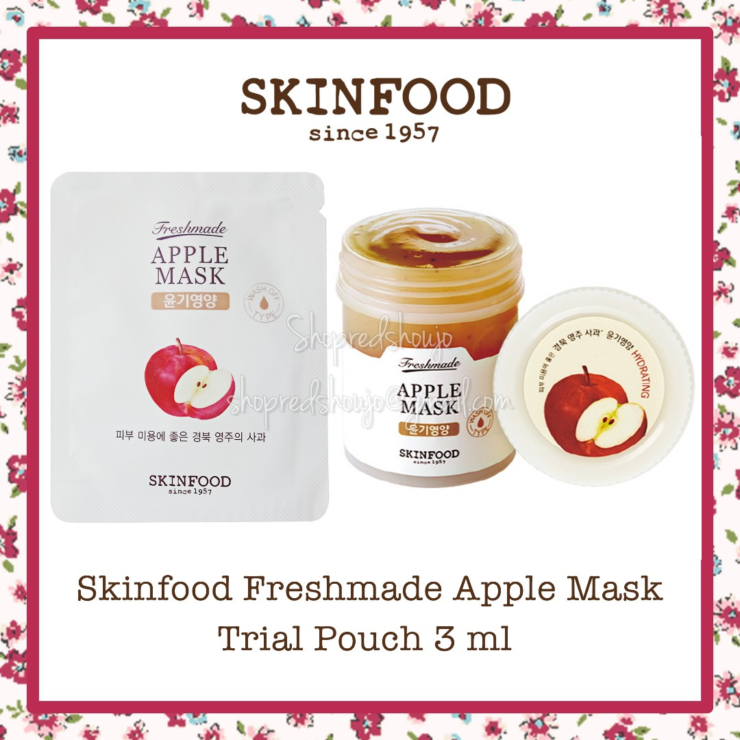 Skinfood Freshmade Apple Mask Trial Pouch