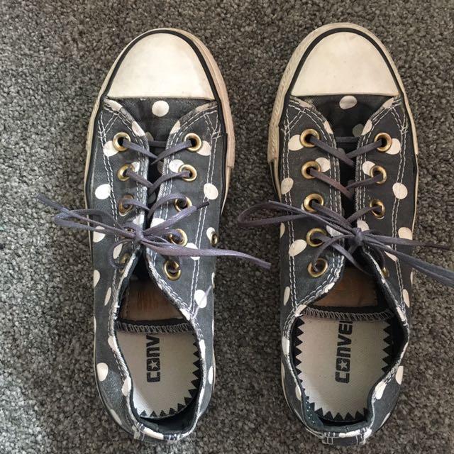 Spotty Converse