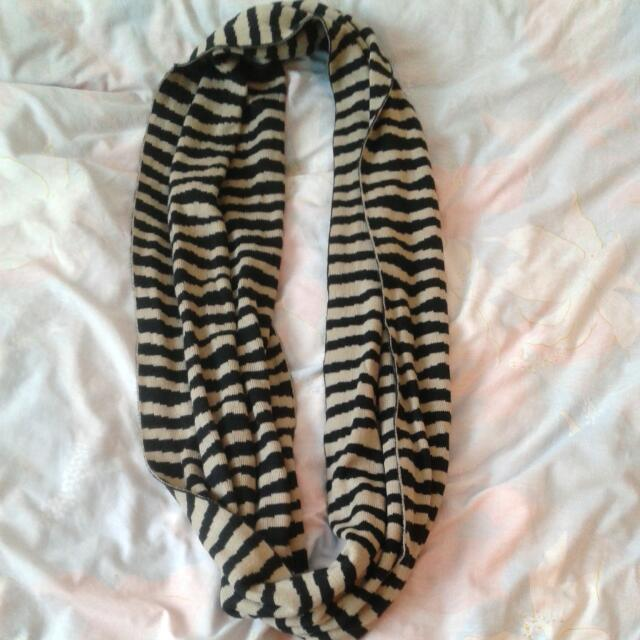Stripped Infinity Scarf