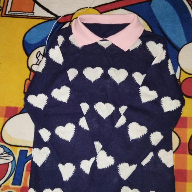 Sweater Love Biru