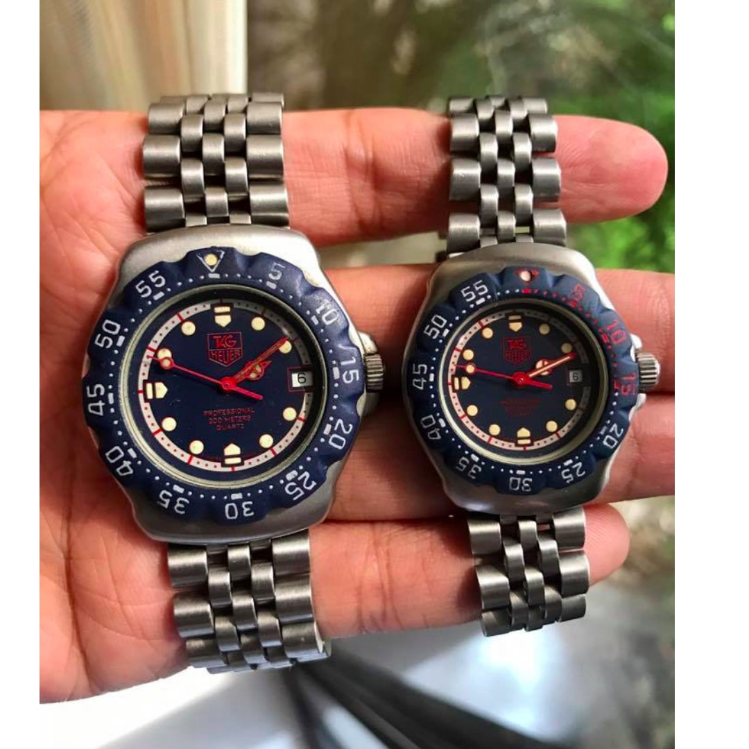 7da63ec19bdf Tag Heuer classic F1 his and her