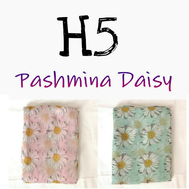 Take All 50rb Pashmina Daisy BARU