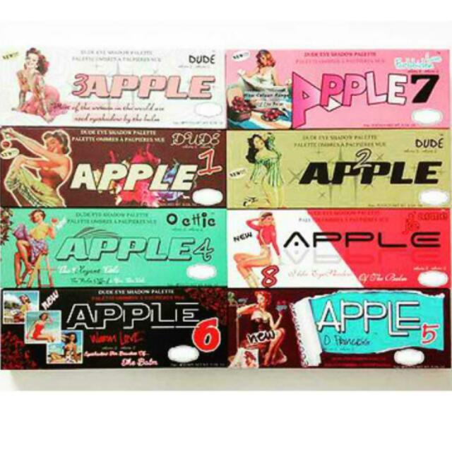 The Balm: Apple Palette