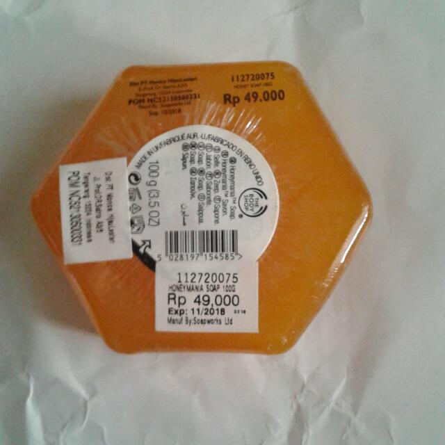 The Body Shop Honeymania Soap